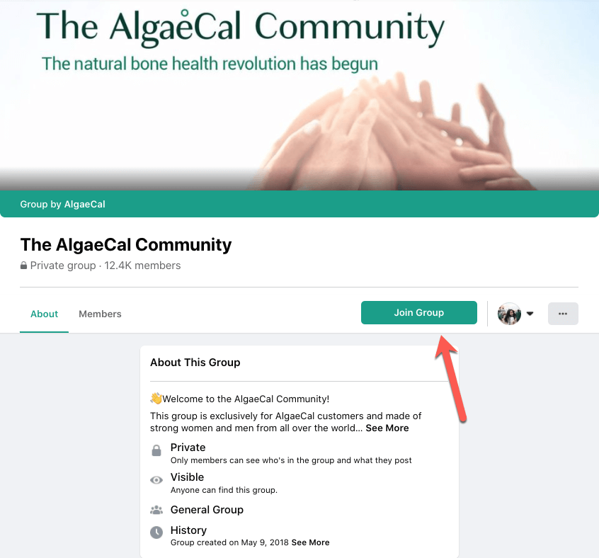 Join the AlgaeCal Community
