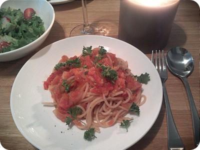 organic marinara sauce spaghetti sauce
