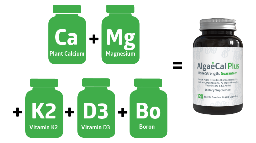 Ingredients in AlgaeCal Plus