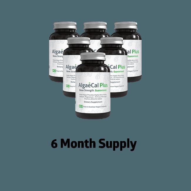 AlgaeCal Plus 6 Month Supply