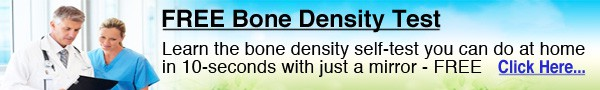 Free bone density test