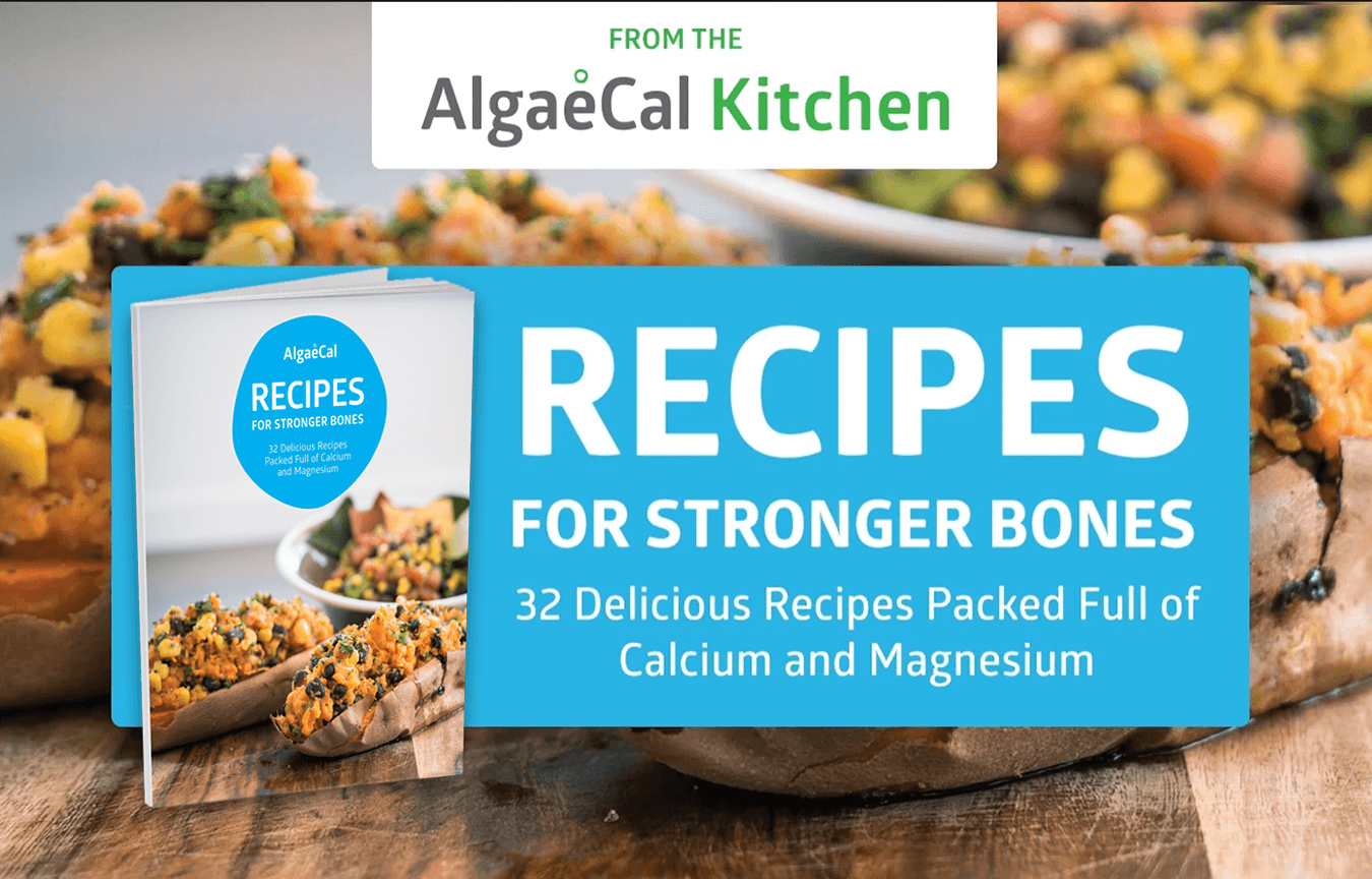 Recipes for stronger bones: 32 delicious recipes packed full of calcium and magnesium
