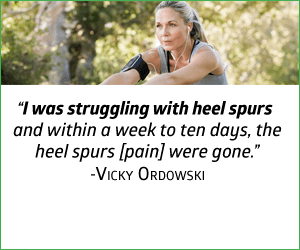 Get Relief from Bone Spurs Now