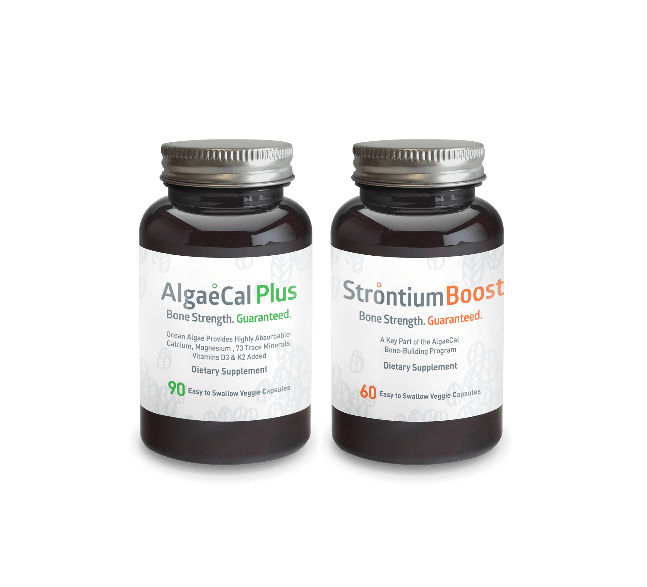 AlgaeCal Plus and Strontium Boost - Bone Builder Pack