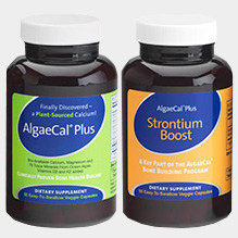 AlgaeCal Plus and Strontium Boost Bone Building Plan