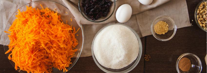 High Protein, High Fiber, Paleo Carrot Cake