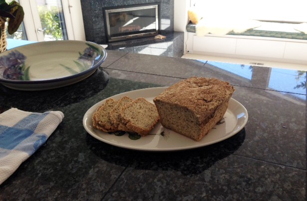 Sliced millet sesame seed bread