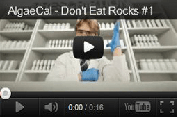 AlgaeCal Don't Eat Rocks Video