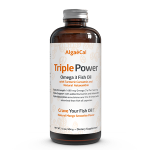 Triple Power Omega 3 Fish Oil bottle