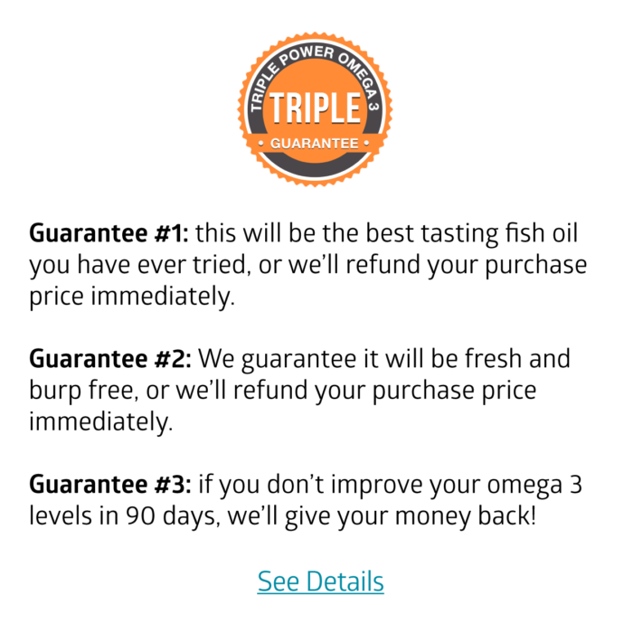 Money Back Triple Guarantee (click for details)