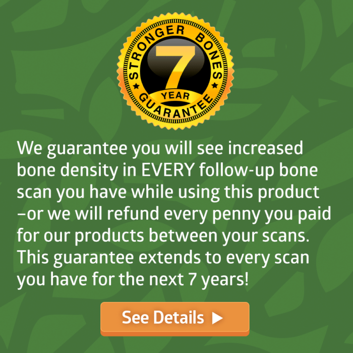 7 Year Money Back Guarantee (click for details)