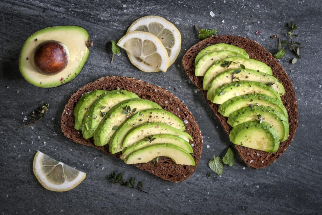 avocado sandwich - when to take strontium