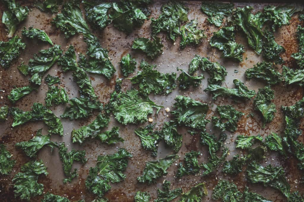 kale - magnesium rich food