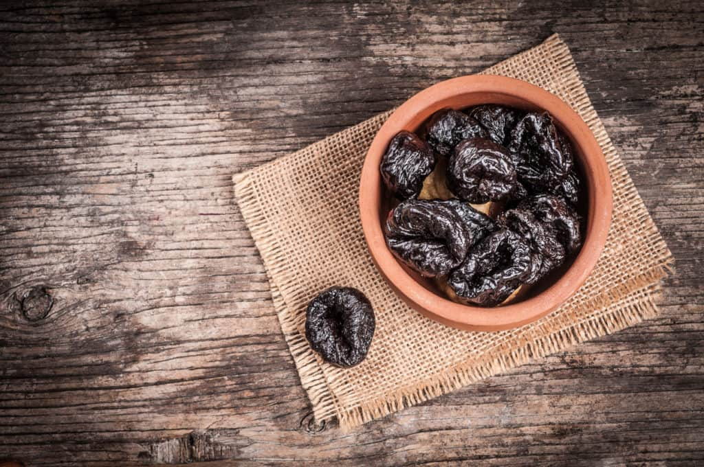 Prunes and osteoporosis