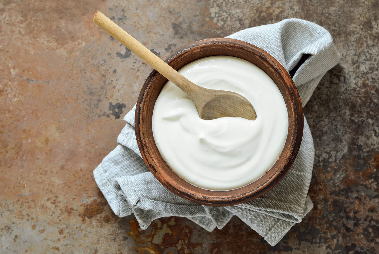 plain yogurt - foods for strong bones