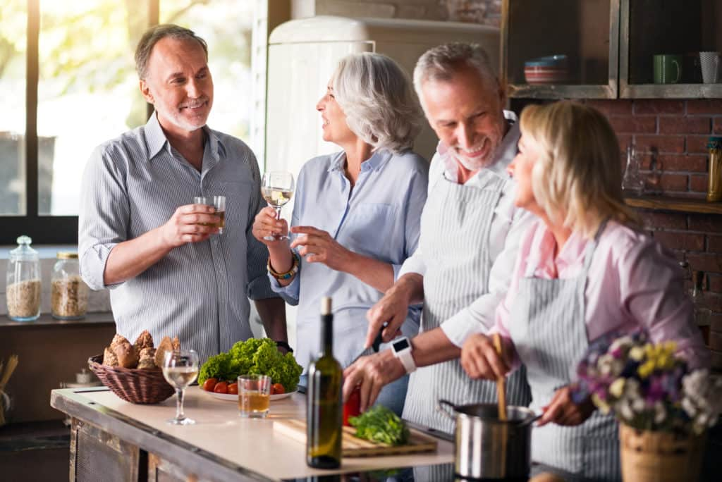 menopause treatments - support, family