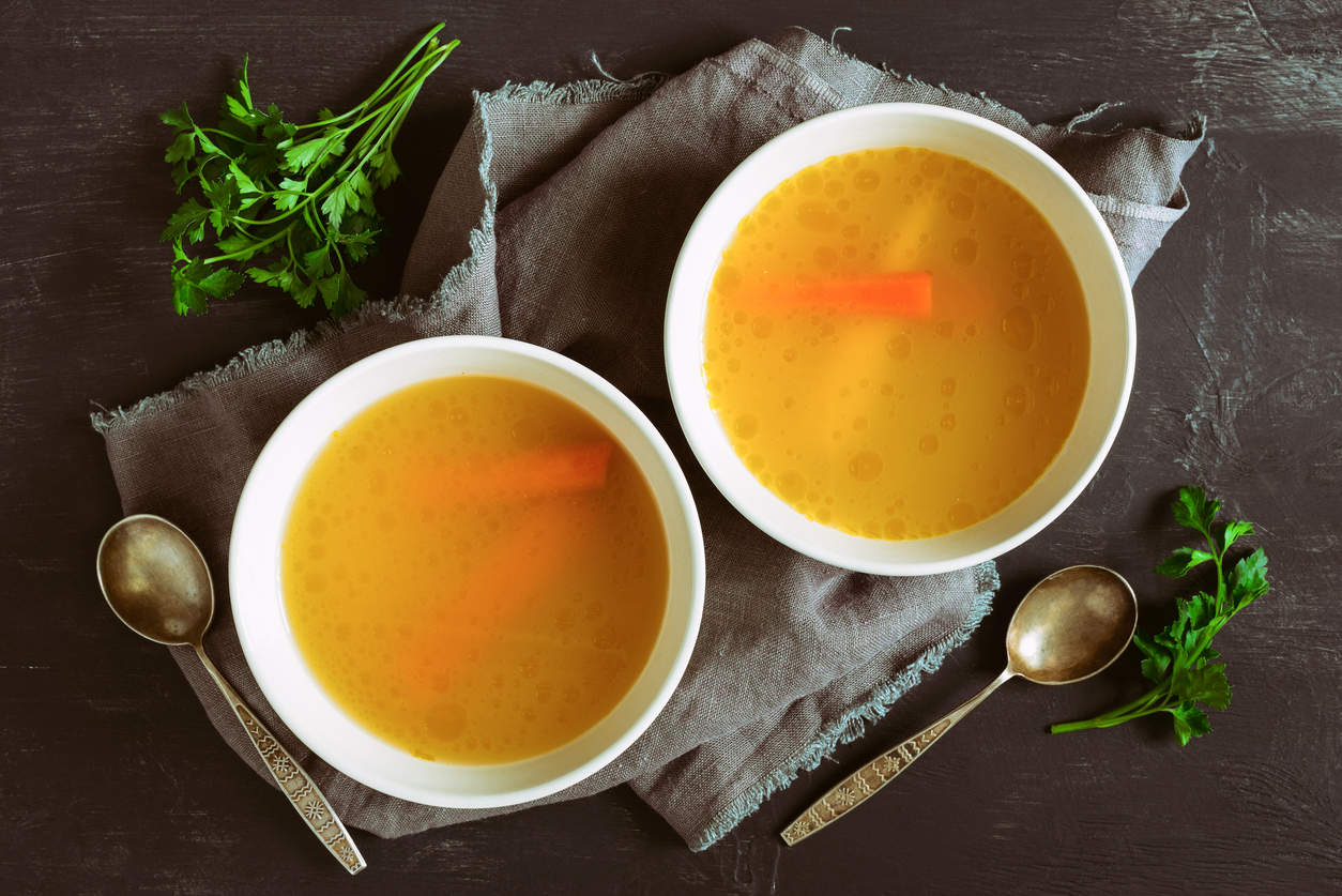 bone broth - foods for stronger bones