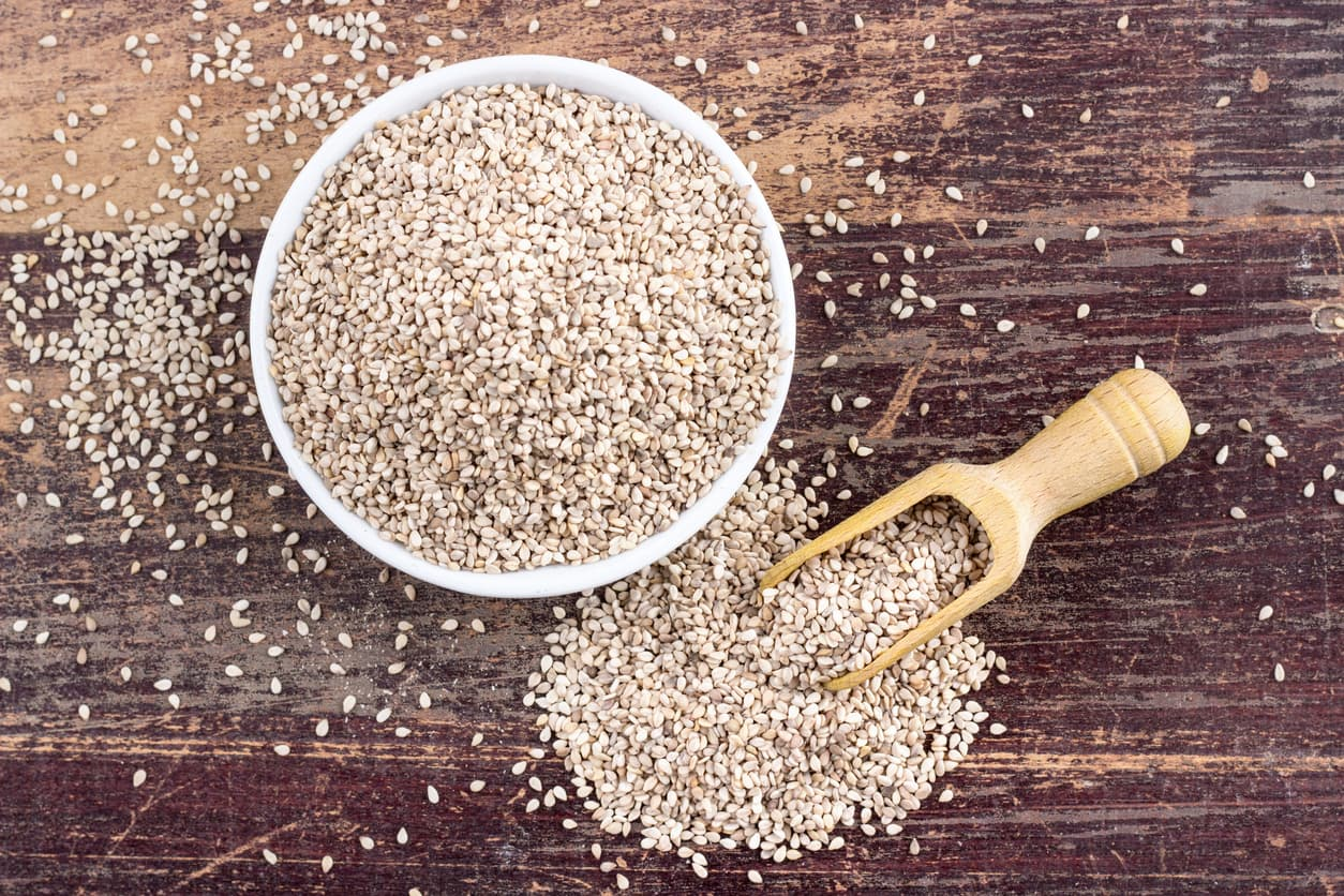 sesame seeds - foods for stronger bones