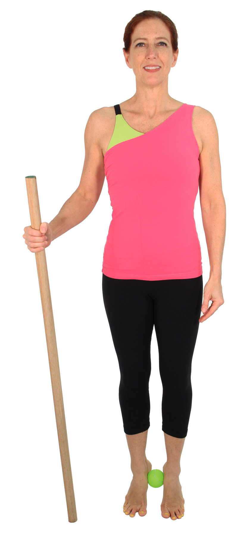 Exercises for Osteoporosis: Single Leg Standing Balance with Heel Raises
