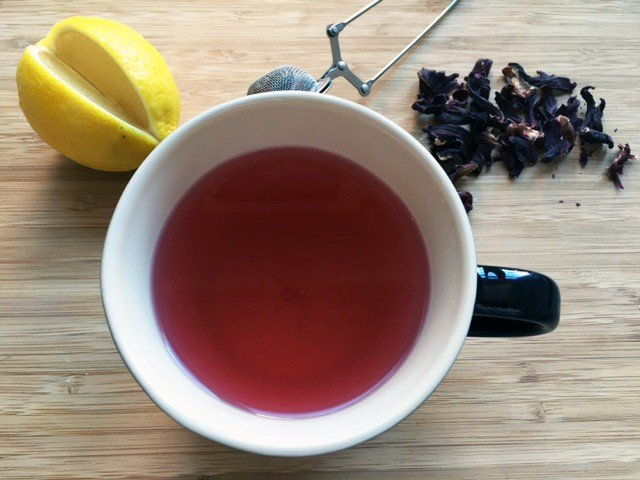 Lemon Hibiscus Tea