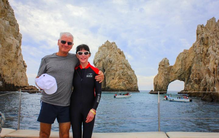 Dr. Joe Pizzorno and Lara Pizzorno in Mexico