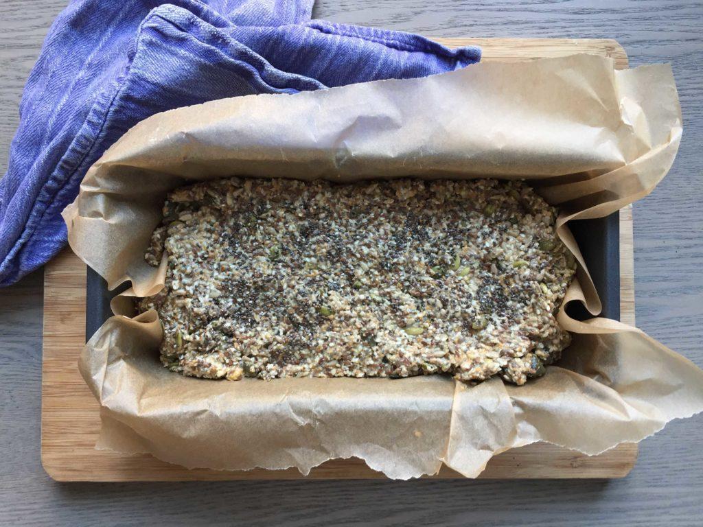 Gluten free nut bread 01