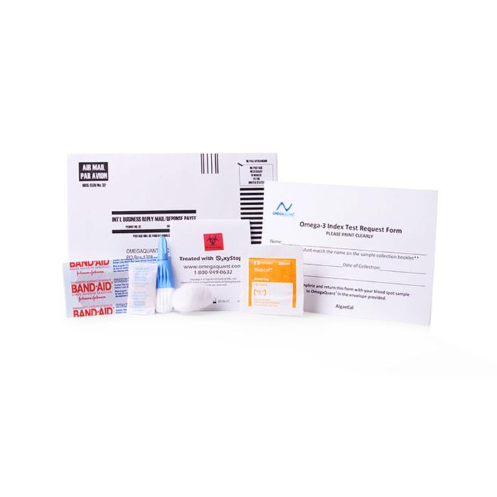 Omega-3 Fatty Acid Blood Test Kit