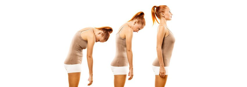 correct posture for spinal exercise