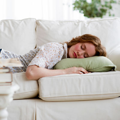 Power Napping Woman