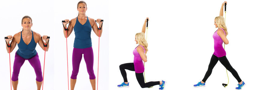 5 Resistance Band Exercises You Can Do Anywhere