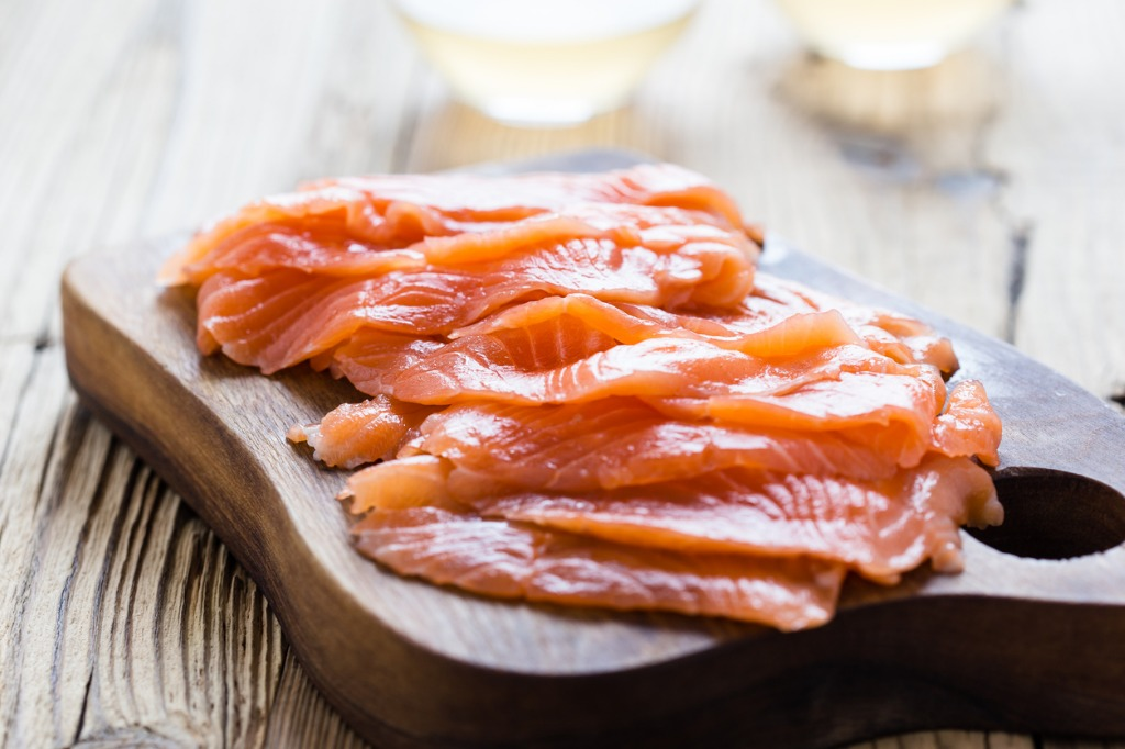 Salmon vitamin D source