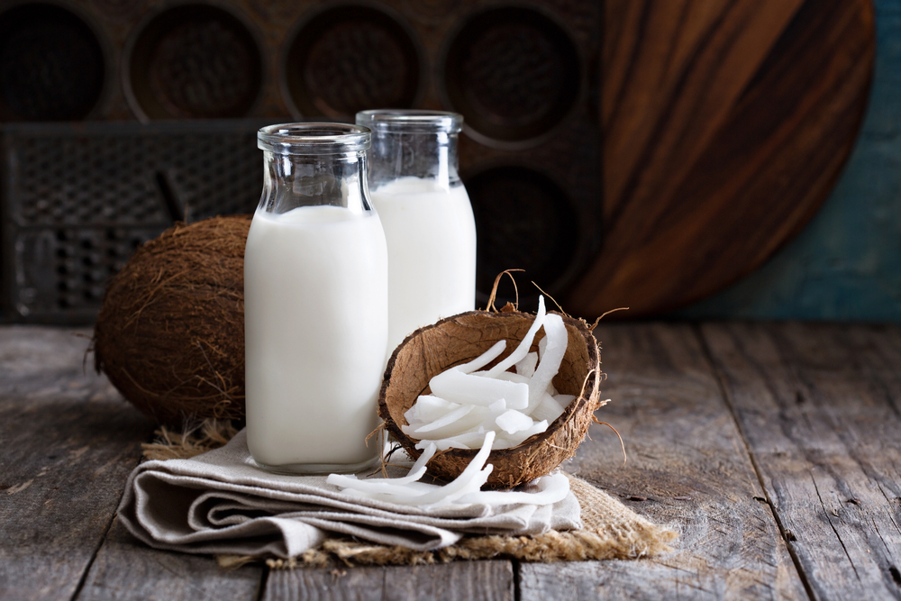 calcium in coconut milk