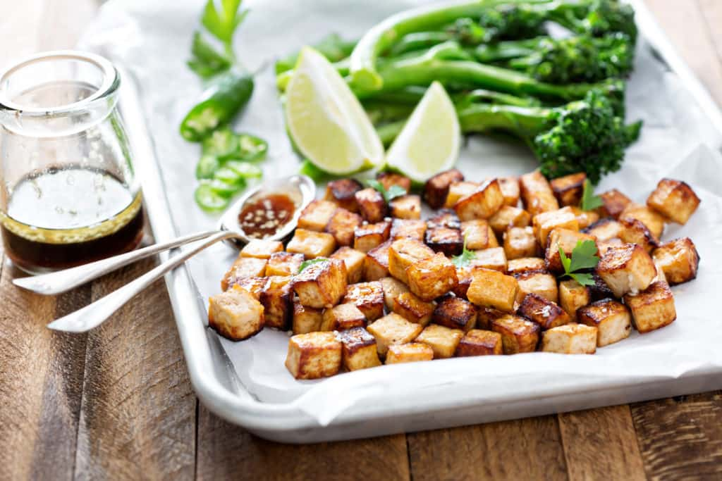 Tofu - magnesium rich food