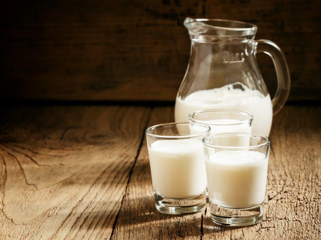 calcium in goat milk