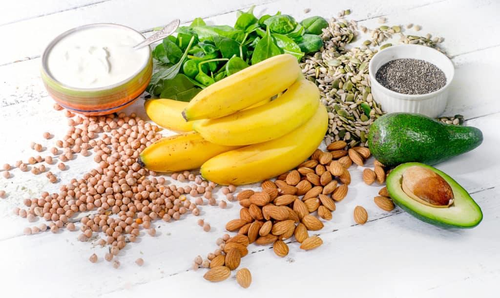 Magnesium Effects - magnesium foods bananas, avocados