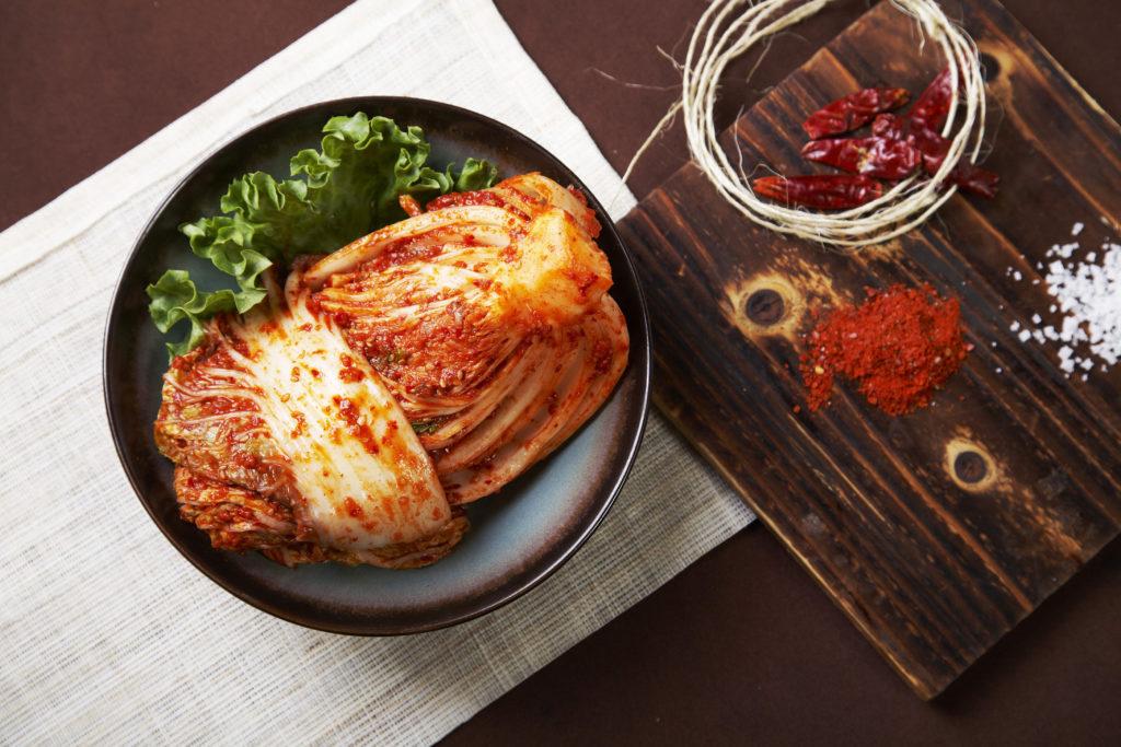 fermented food - kimchi