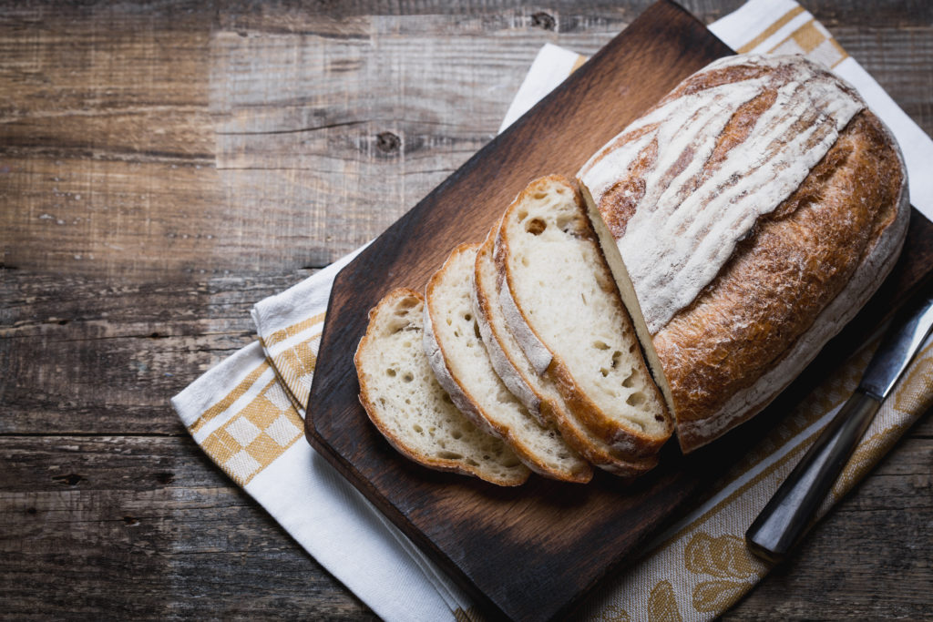 Sliced Gluten-Free Sourdough Bread For Bone Health