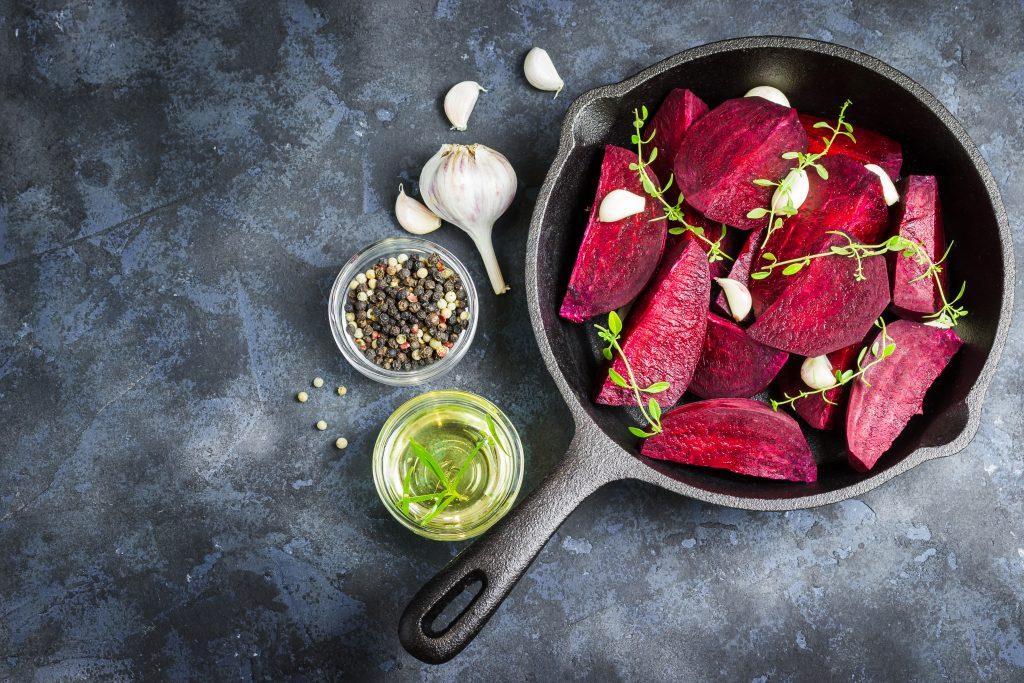 Roasted beets - betalains detox