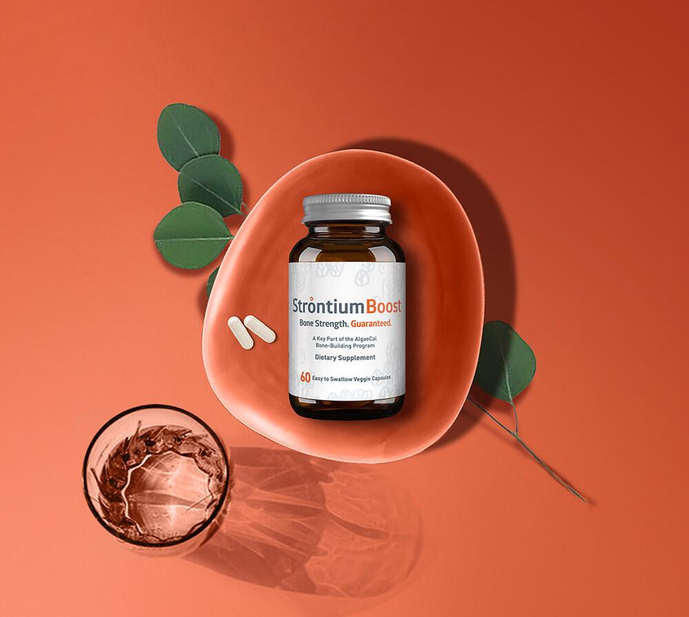 Strontium Boost bottle