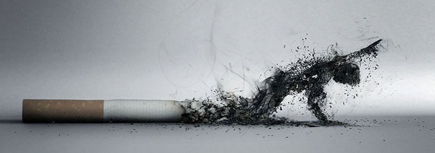 Cigarette with excess ash