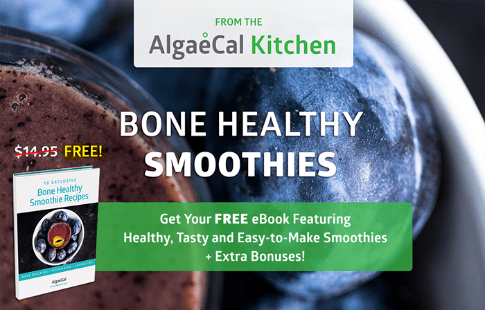 AlgaeCal Bone Healthy Smoothie Recipes eBook Offer