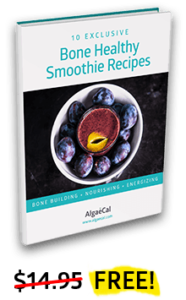 AlgaeCal Bone Healthy Smoothie Recipes eBook Offer