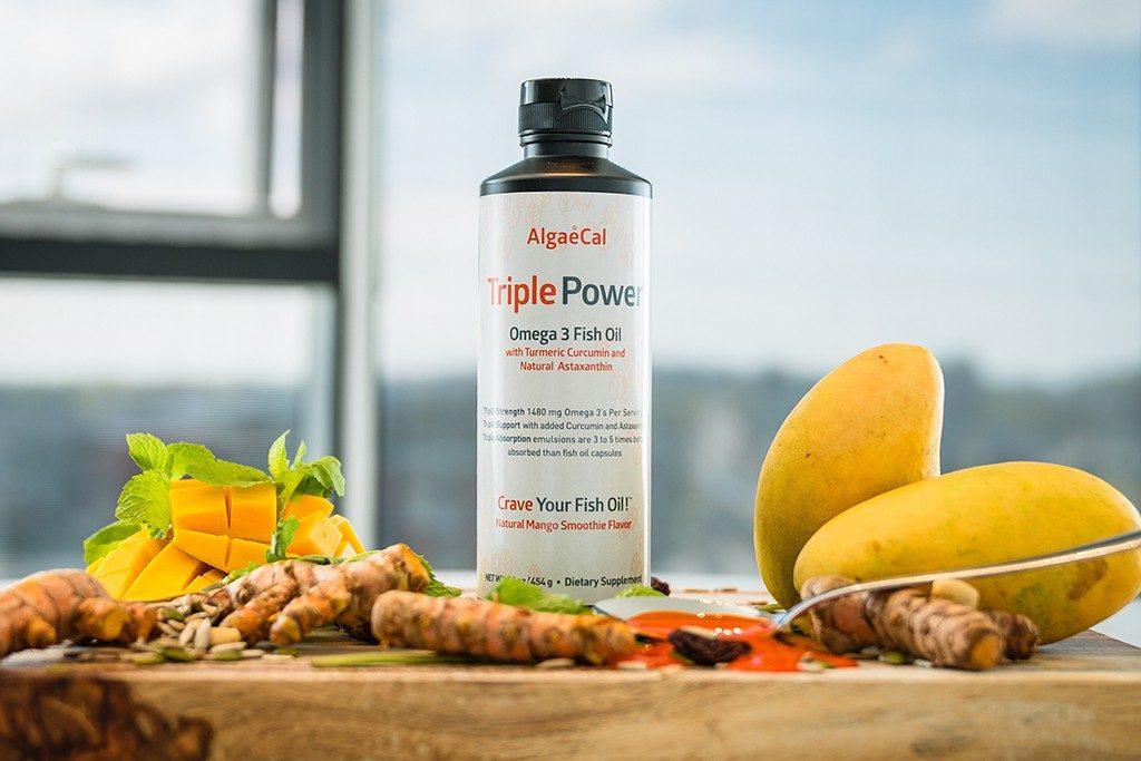 Triple Power Omega 3 Fish Oil Bottle