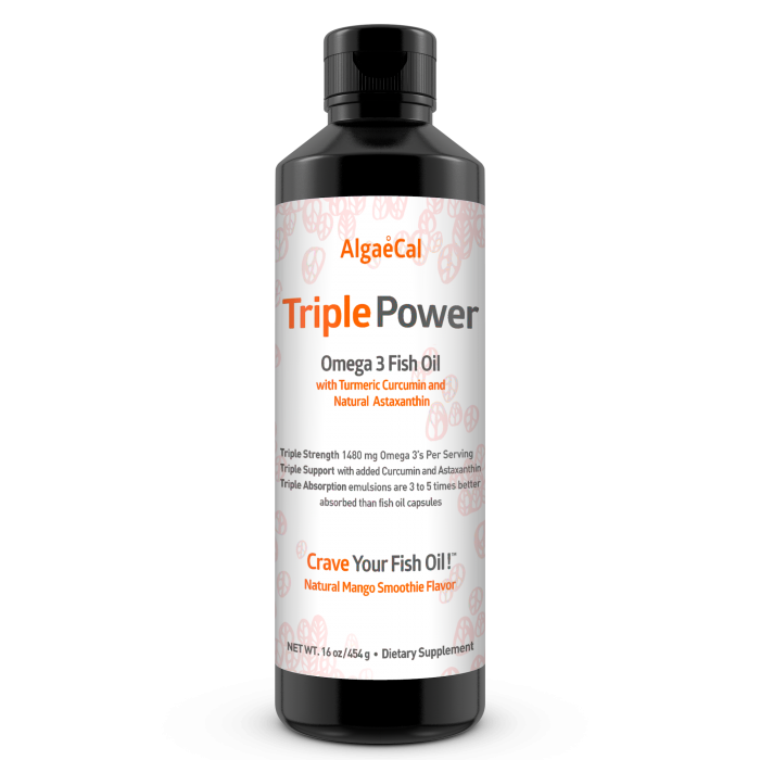 Single Bottle Triple Power Fish Oil