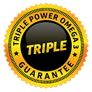 Triple Power guarantee seal