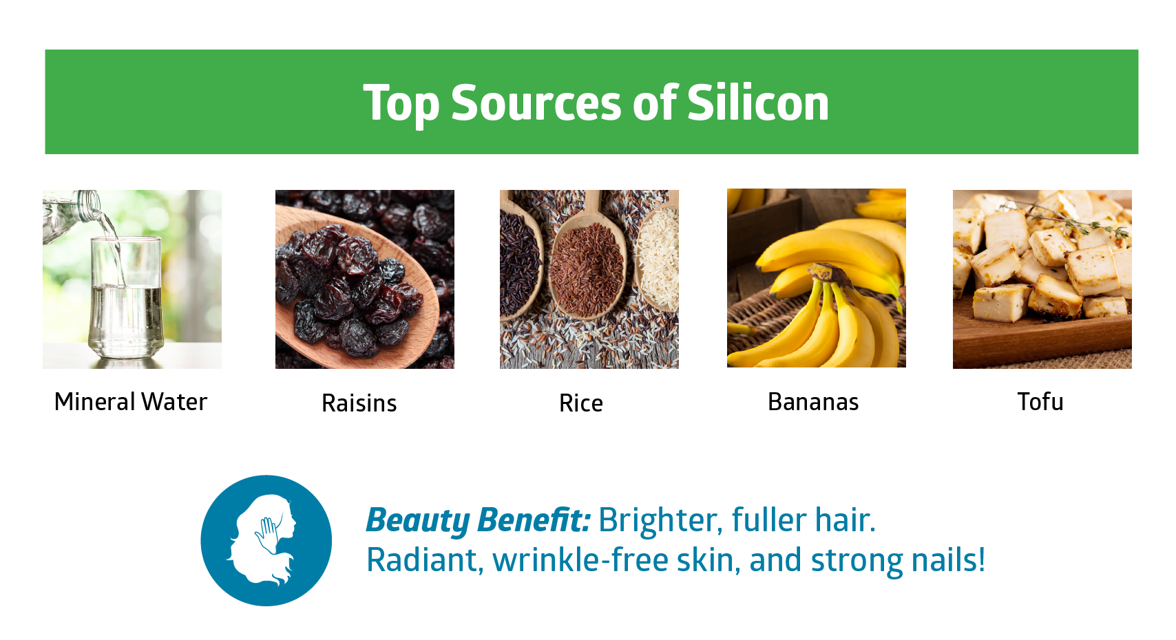 silicon - beauty vitamins and minerals