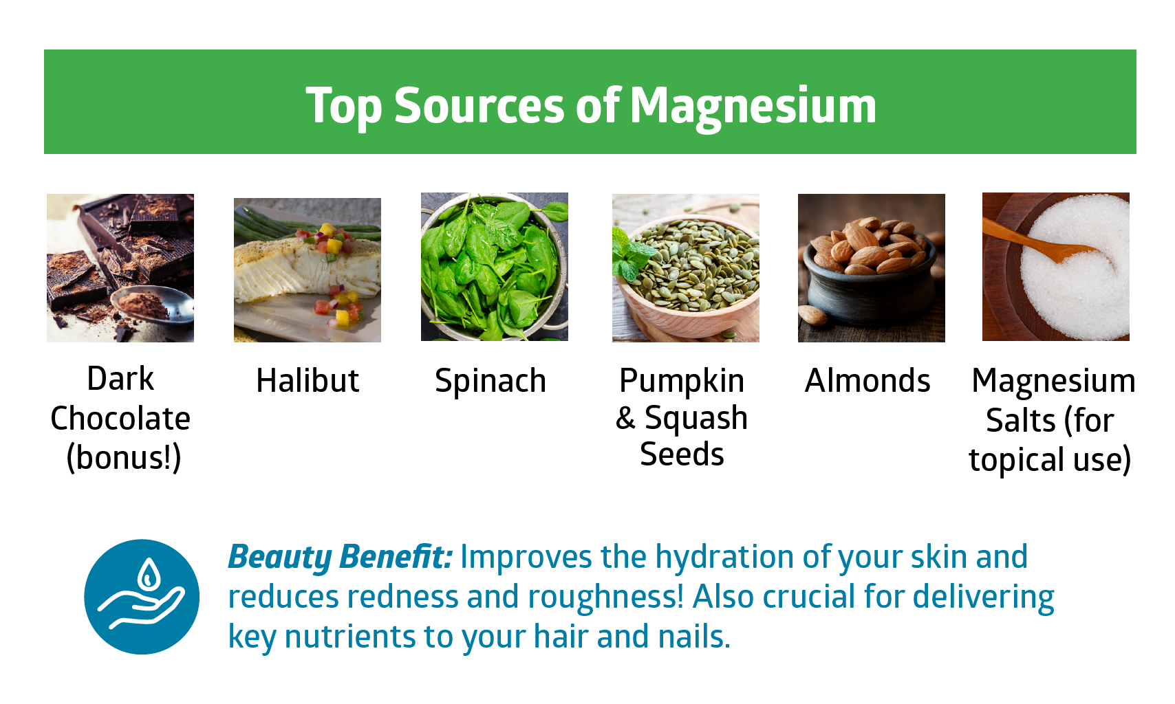magnesium - beauty vitamins and minerals